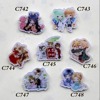 7 different style popular new cute Anime lovely manga badges...