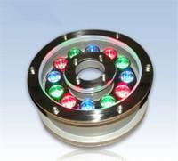 RGB fountain light Free shipping LED pool light Waterproof I...