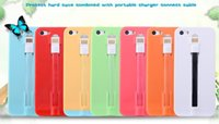 Multiple Function Hard Back Case Cover With USB Charger Func...