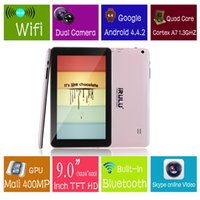 New Arrival! iRulu 9 Inch Quadcore Tablet PC Android4. 4 Dual...