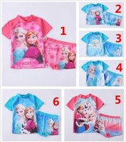 Frozen Elsa Anna SUV sun protection swimwear girls 4t- 10t su...