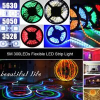 500M Blue LED Strip Light 3528 5050 5630 SMD RGB White Warm ...