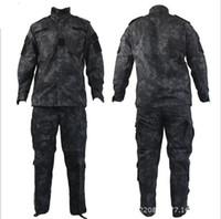 Tactical Rattlesnake Mandrake BDU Uniform Combat Suit Set Sh...