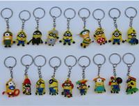 Hot Sale 3D Despicable Me Minion Action Figure Keychain Keyr...