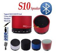 Mini S10 Bluetooth Speakers Wireless Aluminium Portable spea...