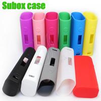 case Case Kanger Subox Mini Silicone Cover Case Colorful silicone pour Subox mini-Kbox VPI sac Etui en silicone