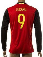 Thai Quality Customized 15- 16 New season men Belgium 9 LUKAK...