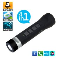 2015 Bluetooth Multifunction Speaker 4 in 1 Flashlight Torch...