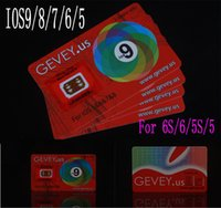 Newest E- paper Gevey r Sim 10 Unlock Card Perfect unlock 4g ...