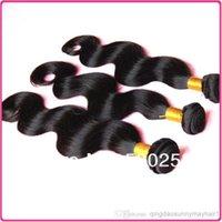 free shipping!!!Brazilian body wave hair 3piece human hair w...