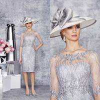 Elegnat женщина платья три четверти рукава Длинные платья мати оболочки Ча-Длина матери невесты платья партии платья BO7322