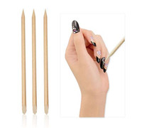 Orange Wood Orangewood Sticks Stick Cuticle Pushers Pointed ...