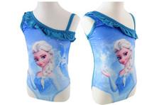 2014 Frozen Swim Collection for Girls Frozen SwimSuit Swim W...