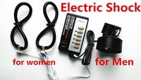 Penis Vaginal Anal Electric Shock Sex Toys for Couples Elect...