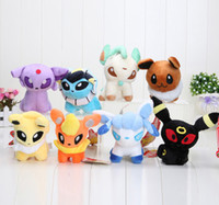 "pikachu Pocket 8 Styles 6"" Umbreon Eevee Espeon Jolteon..."