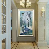 100% Ручная роспись палитра густое масло холст картины высокого качества, современный дом минималистский декоративного искусства JL035