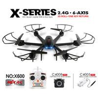 Drone avec caméra Wifi FPV HD MJX X600 X-SÉRIE 2.4G 6Axis RC Hexacoptre Quadcopter UFO (peut choisir caméra améliorée C4015 ou C4018)