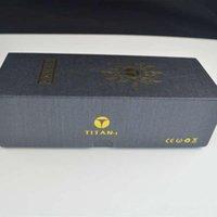 Titan 1 E kit de cigarrillos 2200mah seco hierba vaporizador pluma para cera caja de regalo vs Titan 2 Vaporizador Snoop dogg G kits pro