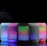Speakers Bluetooth LED Speakers Wireless Speaker With LED Co...