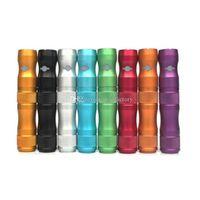 100% de haute qualité eGo Kamry X6 E cig 1300mah Variable Voltage Vaporisateur V2 Atomiseur Starter Kit Electronique E Cigarette Ecig Batterie