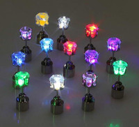x200 Novelty LED Flashing Light Stainless Steel Rhinestone E...