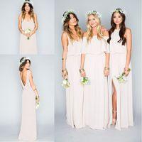 New Arrival 2016 Summer Beach Bohemian Bridesmaid Dresses Mi...