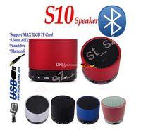 NEW S10 speaker Metal Mini Portable BeatBox Hi- Fi Bluetooth ...