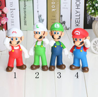 PVC Super Mario and Luigi donkey kong Action Figures mario 4...