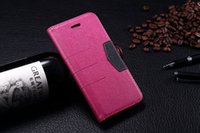 "Flip Leather Case for 4. 7"" Apple iPhone 6 6G Luxury Mag..."