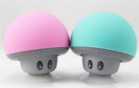 2016 Newest Mini Portable Mushroom Bluetooth Speaker with Su...