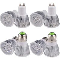 Venta caliente del CREE 9W llevó la lámpara de 12W 15W regulable GU10 MR16 E27 E14 B22 GU5.3 llevó el proyector punto de luz LED Lámpara Bombilla envío libre de iluminación