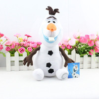New Frozen Cartoon Movie Olaf Plush Toys the snowman cute do...
