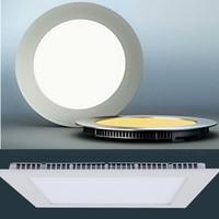 Ultrathin- 9W 12W 15W 18W LED Panel Lights SMD2835 Downlight ...