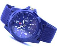 Hot Swiss Army montres bracelet tissé pour les hommes et les femmes occasionnels mode sportive de luxe grand cadran montre-bracelet à quartz