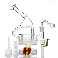 """9"""" Tall Glass Bongs Two Functions Oil Rigs Water Pipe W..."""