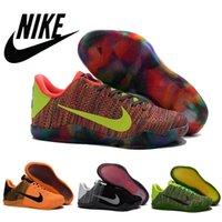 Nike KOBE 11 XI Brand Nike Zoom Flyknit Sneakers KB Elite Ko...