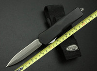 Hot sale Microtech combat Troodon A07 Damascus Blade 59- 61HR...