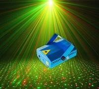 50Pcs Bleu Beautiful Light! / Noir Laser Mini Stage éclairage laser 150mW GreenRed DJ Party étape lumière Disco Dance lampadaires livraison gratuite