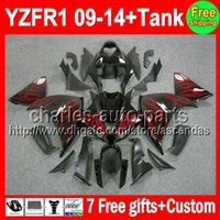 7gifts+ Tank For YAMAHA YZF- R1 09- 14 YZF R1 YZF1000 09 10 11 ...