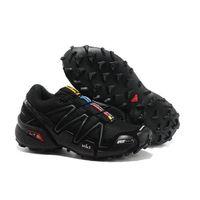 Genuine Grip Footwear Slip-Resistant Jogger Black Leather for