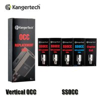 Bobines OCC verticales SSOCC véritables Kangertech 0.15 / 0.2 / 0.5 / 1.2 / 1.5ohm Bobine pour atomiseur Mini V2 de Kanger Subtank