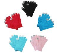 Big Discount Fashion Colorful Winter Warm Touch Screen Glove...