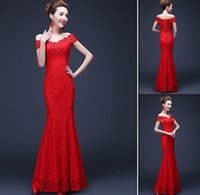 Long Red Cocktail Dress