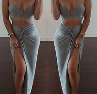 3 Color New Celebrity Bandage Bodycon Cotton Dresses Summer ...
