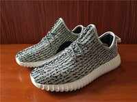 Turtle Dove Grey Kanye 350 Boost Women and Men Running Shoes...