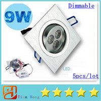 Ceiling Light Square Led Downlight 9W 3X3W 720 Lumens Led Ce...