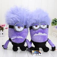 12inch 32CM Despicable Me Minions Evil Purple Jorge Stewart ...