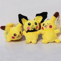 Poke plush toy Pikachu Plush Keychain Pendant Phone Strap so...
