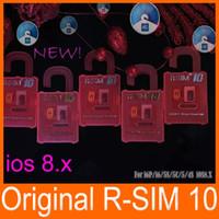 Р сим 10 RSIM 10 р-10 р sim10 разблокировки сим карты идеальное анлок iPhone 6 плюс 6 для iPhone 5С 5 4S с прошивкой в ios8 8.х АТТ Т-Спринт мобильных сетях WCDMA и GSM сети CDMA