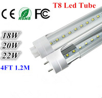 CE ROHS FCC + 4 фута 1200 Т8 Светодиодная лампа высокого Супер яркий 18W 20W 22W теплый белый светодиод холодной люминесцентные лампы AC110-240V Светодиодные трубы